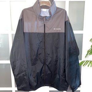 NWOT Men's 4XT-TALL Columbia Packable Rain Jacket